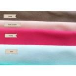 Tissu cotonnades unies - coloris au choix - x10cm