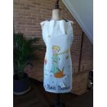 Tablier coton - Petit prince Renard