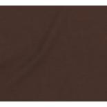 Tissu cotonnade unie - marron x10cm