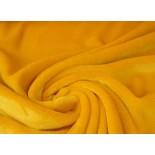 Tissu polaire Doudou - blanc - x10cm