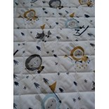 Tissu Matelassé - Floppy - x10cm