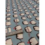 Percale de Coton - patin à glace - x10cm