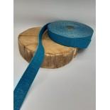 Sangle 3cm - bleu lurex