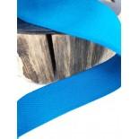 Ruban coton - 2.50cm - Bleu