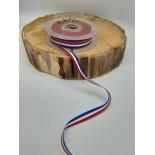 Ruban coton - 1cm - Tricolore