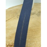 Biais coton - 3 cm - Bleu