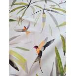 Tissu ameublement - birds x10cm